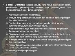 faktor-dominan-pembangunan-nasional