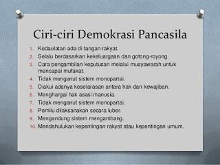 ciri-ciri-demokrasi-pancasila